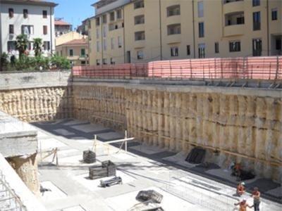Stabilizzazione fondazioni ditta EDILPALI