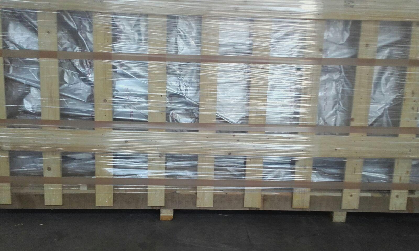 scatola legno imaballata
