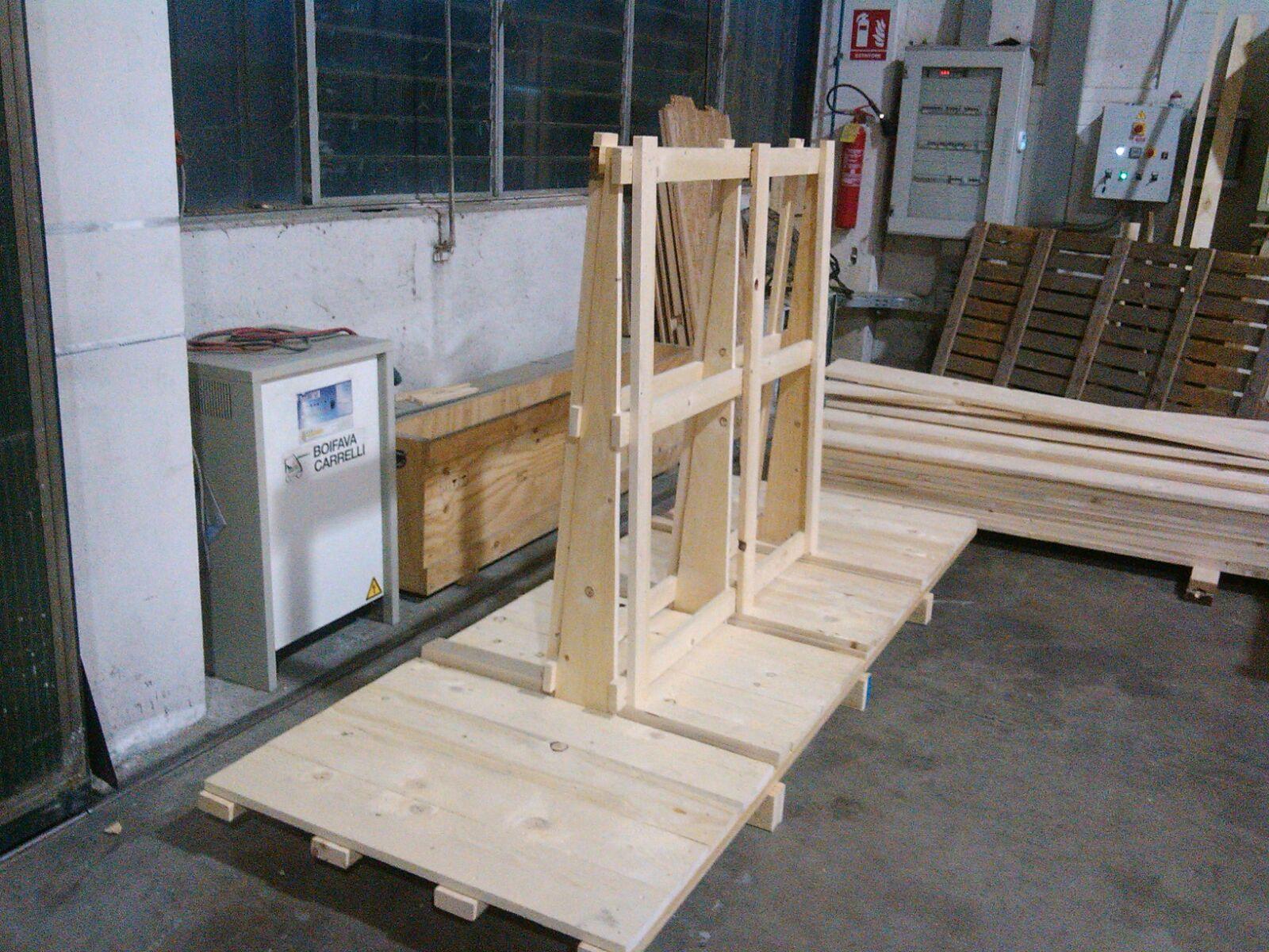 costruzione in legno