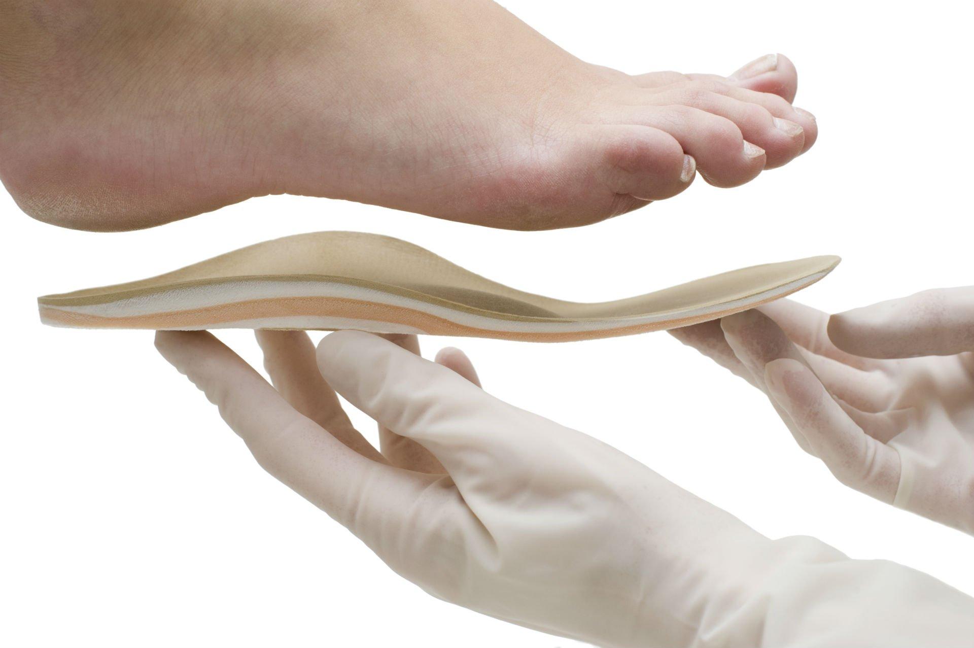Piede e plantare ortopedico