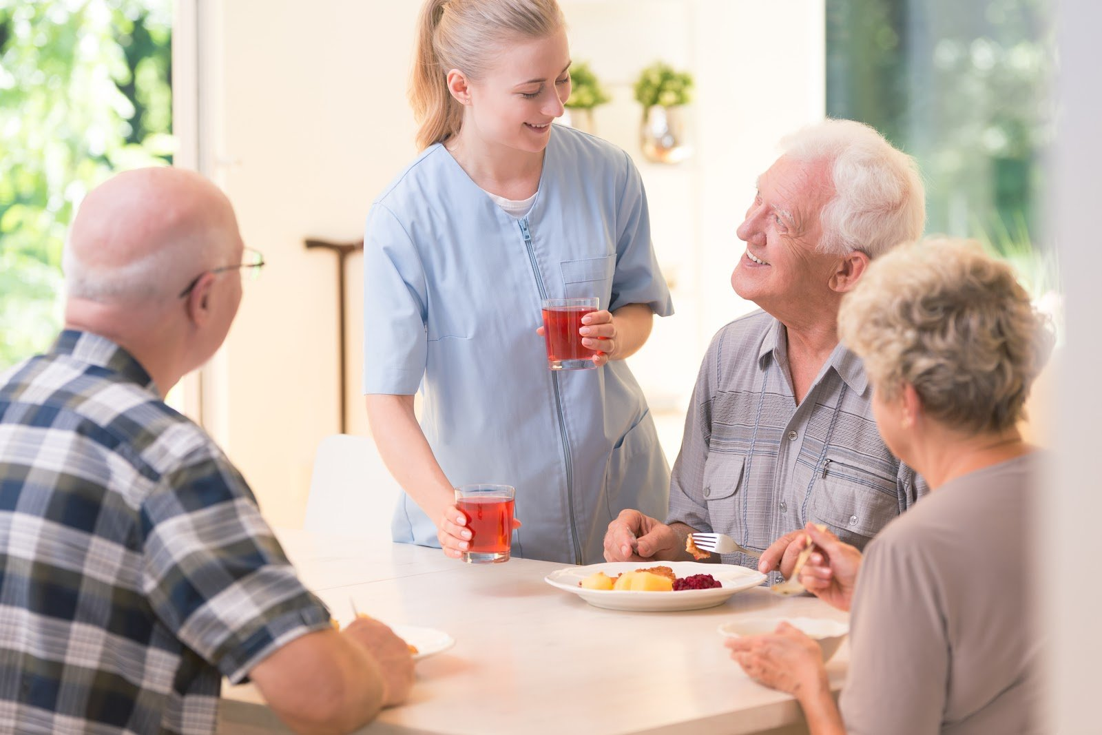 Benefits of Working Part-time in Senior Care