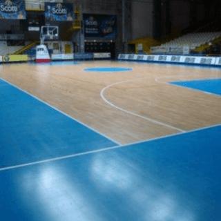 pavimenti palazzetto dello sport