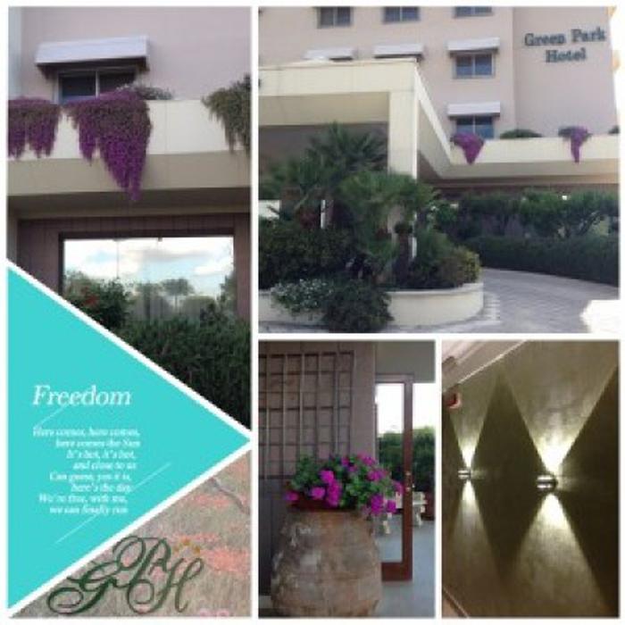 immagini dell'ingresso del'hotel