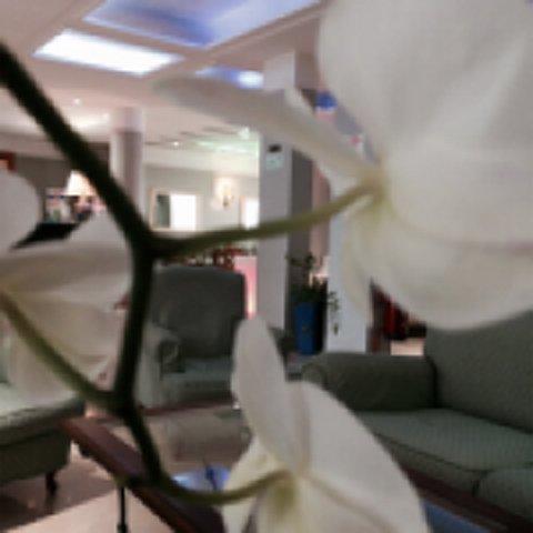 vista interna dell'hotel
