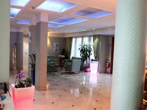 pavimento all'interno dell'hotel