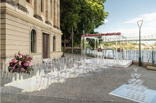 Seating arrangement for a wedding