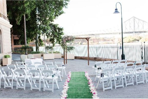 Seating arrangement for an event