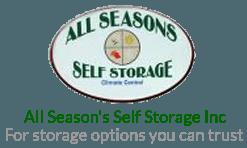 All Season's Self Storage Inc_logo