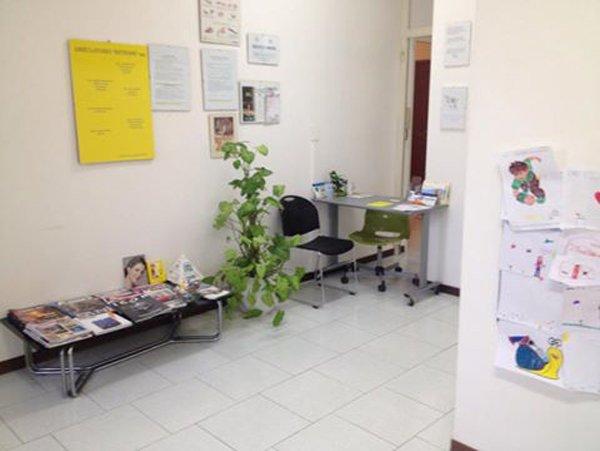 sala di aspetto dentista