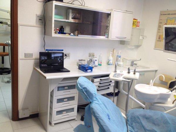 stanza visita dentistica