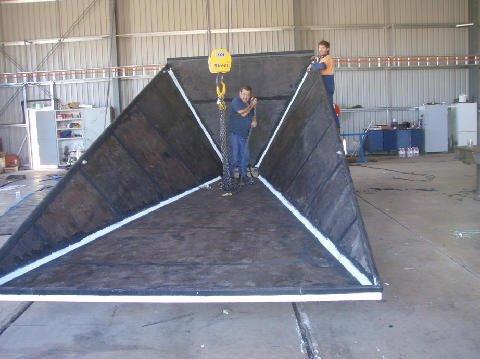 Fabrication in progress