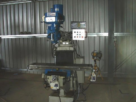 Machine being used for fabrication at the shop