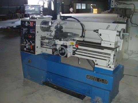 Machine being used for fabrication