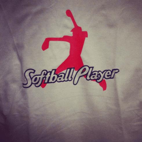 "T-Shirt Personalizzata FLEX ""Softball Player"""
