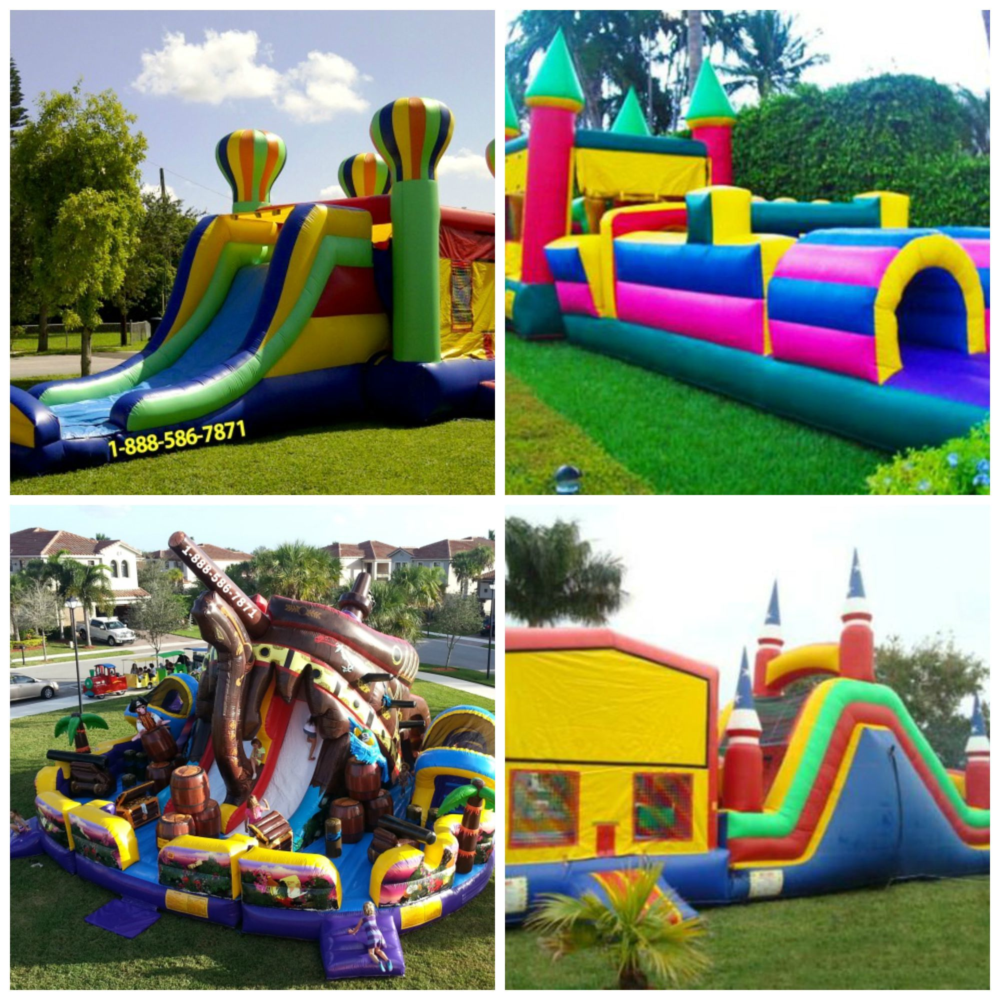 Bounce House Rental Miami Party Equipment Rental Service