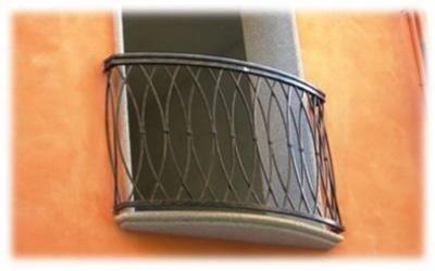 balconata in ferro