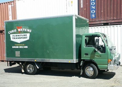 Truck used for interstate removal services in Hobart