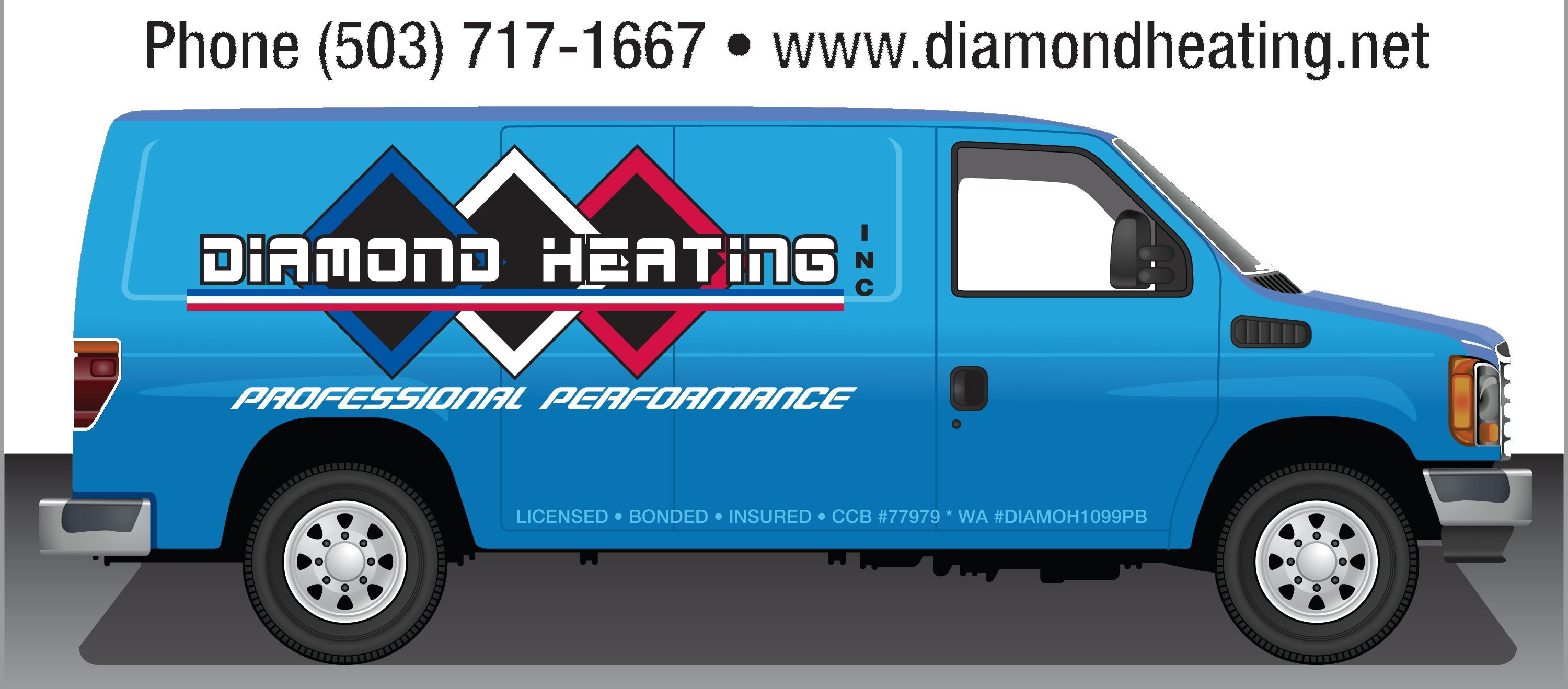 Diamond Heating
