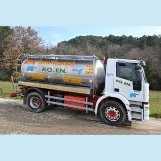 Camion per il trasporto dei rifiuti