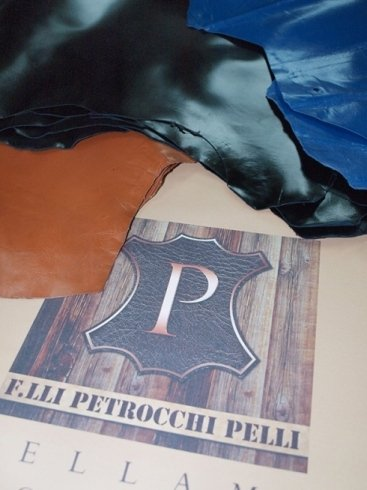 Goatskin lining in various colours