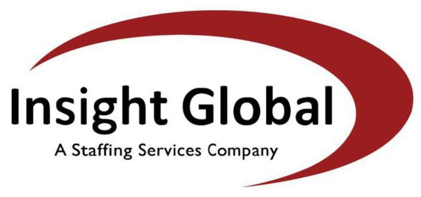 Insight global-a staffing services company