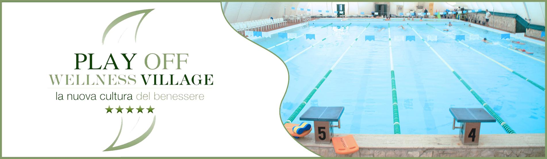 volantino-Play Off Wellness Village e piscina