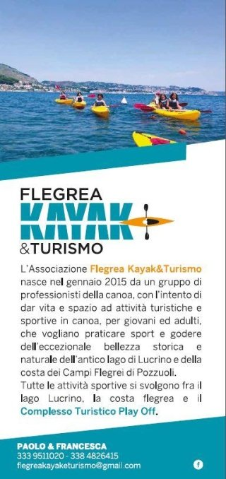 volantino di FLEGREA KAYAK & TURISMO-PAOLO & FRANCESCA