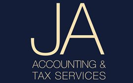 ja accounting and tax services logo