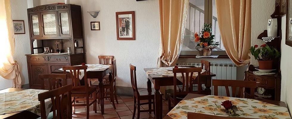 sala da pranzo della casa per anziani