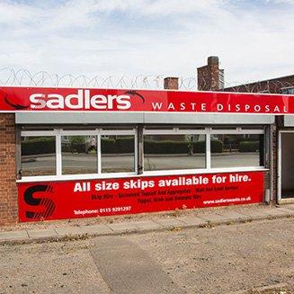 sadlers waste disposal centre