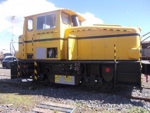 vista di locomotore