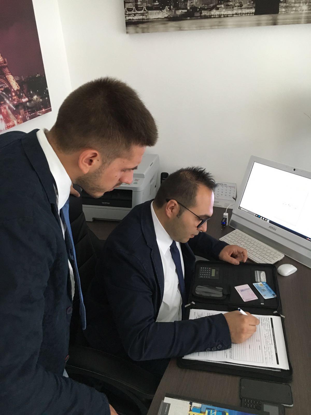 Professionali dell'azienda Onoranze Funebri Monte Carmelo a Fasano