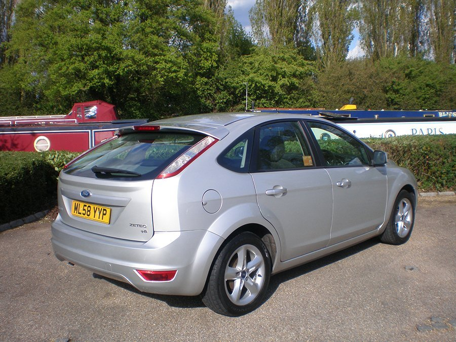 Ford Focus 1.8 Zetec alloys