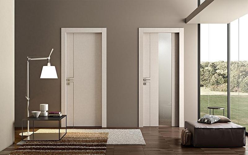 porte interne in legno perla