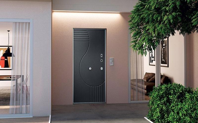 Porta grigio scuro