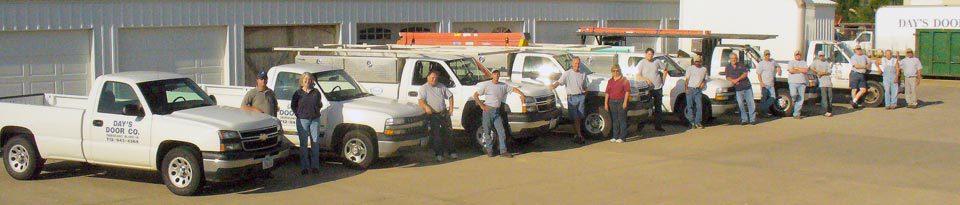 Day's Door Company Team