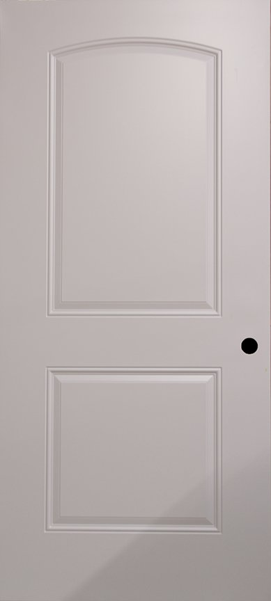 Archtop interior door