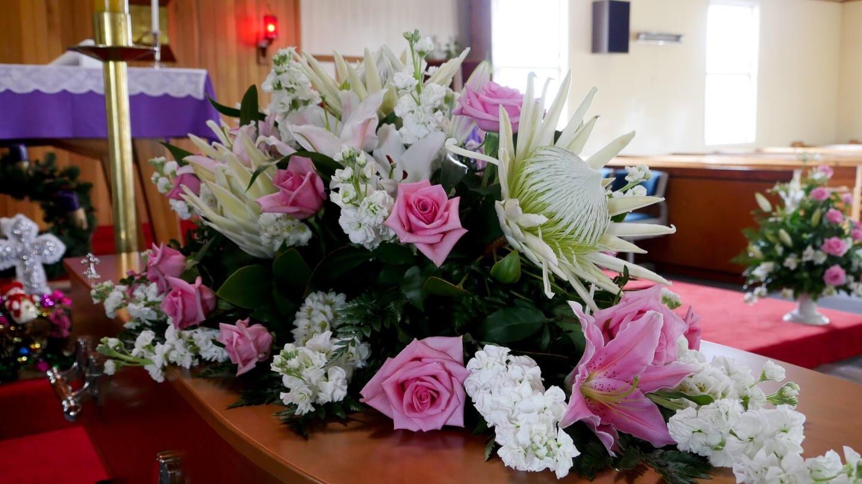 Bellissima composizione floreale