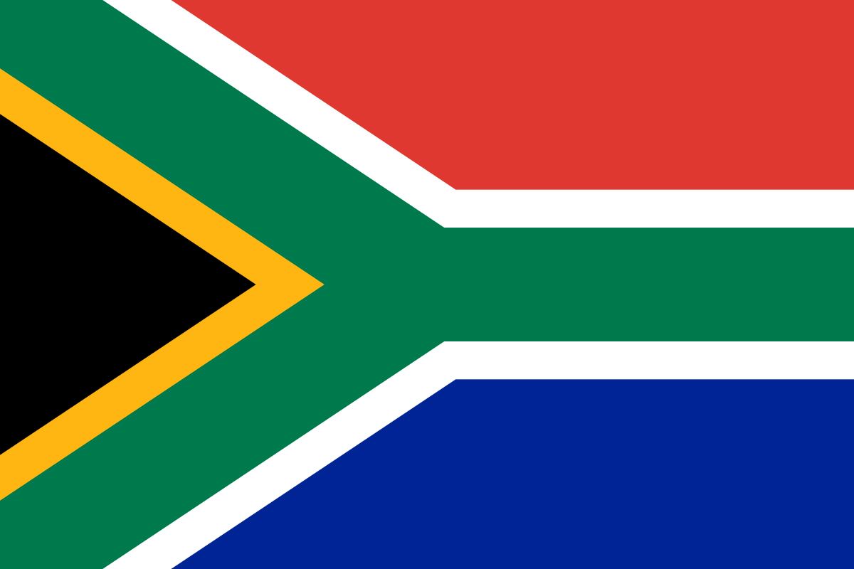 Image of South Africa Flag