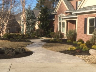 The landscape contractors from Integrity Green Landscaping