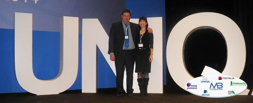 Roberto Bensi e Claudia Meo