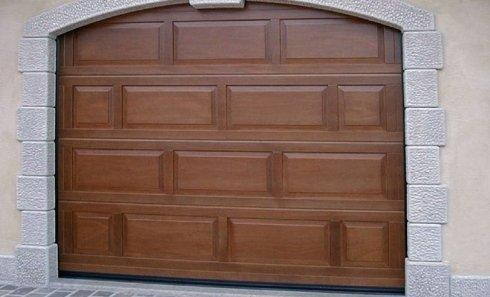 sezionale in legno garage