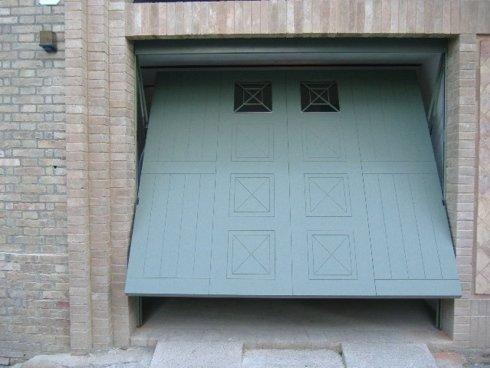copertura in pvc basculante garage