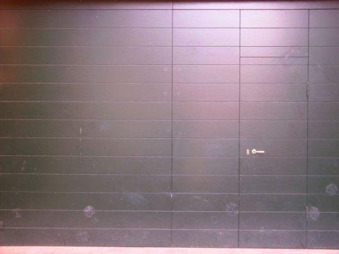 copertura in pvc per porta garage