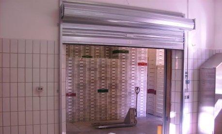 automazioni serrande metalliche magazzino merci