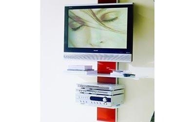Porta TV con mensole