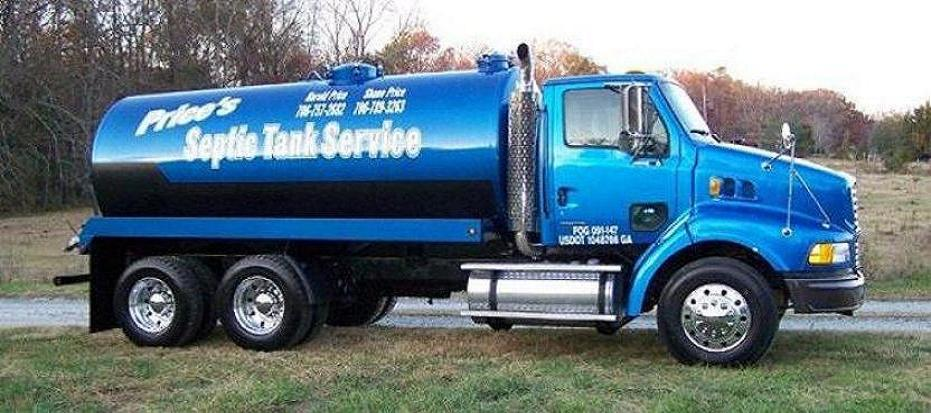 Price's Septic Tank Commerce GA