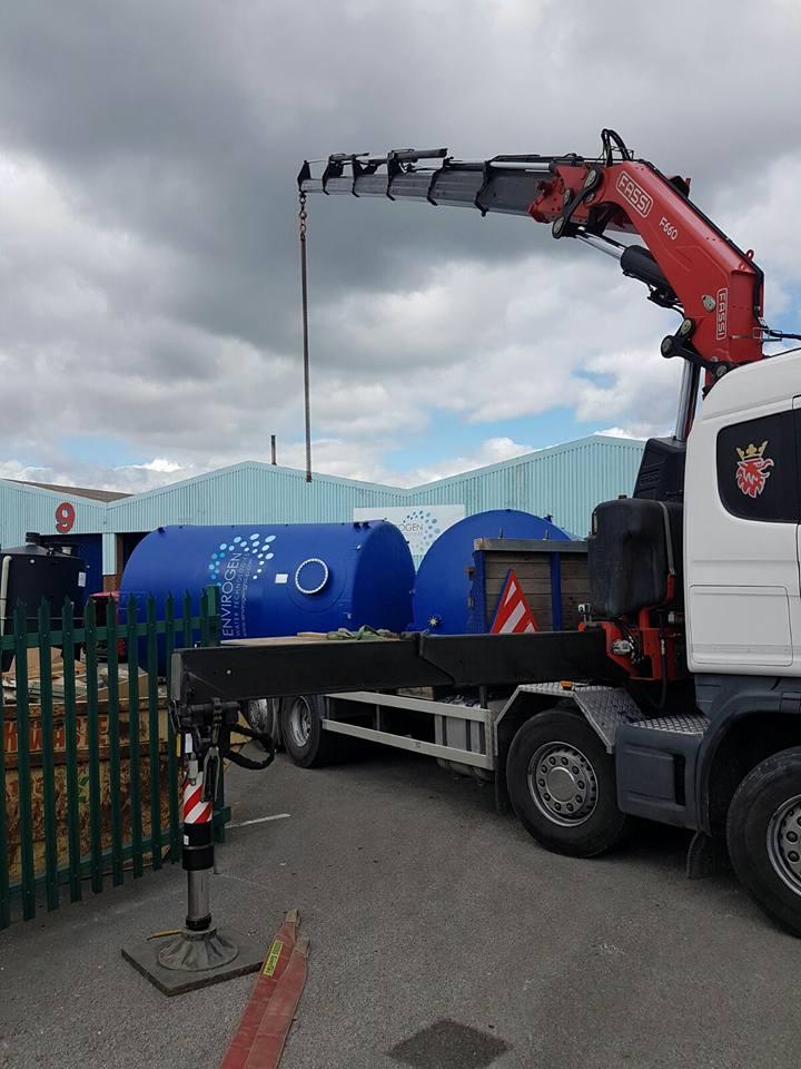Water tanker transportation