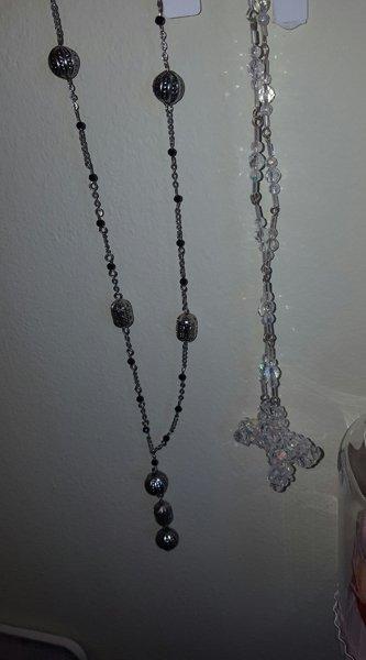 lunghe collane con croce