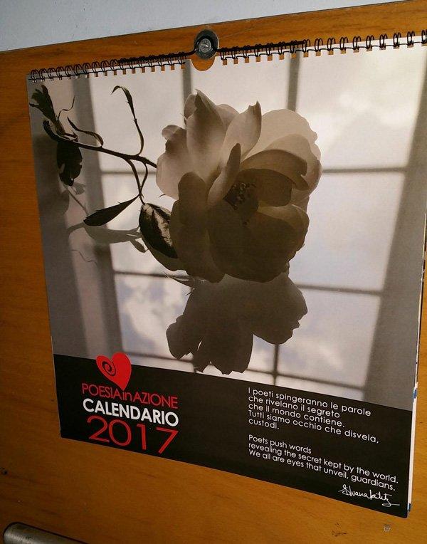 calendario stampato a colori